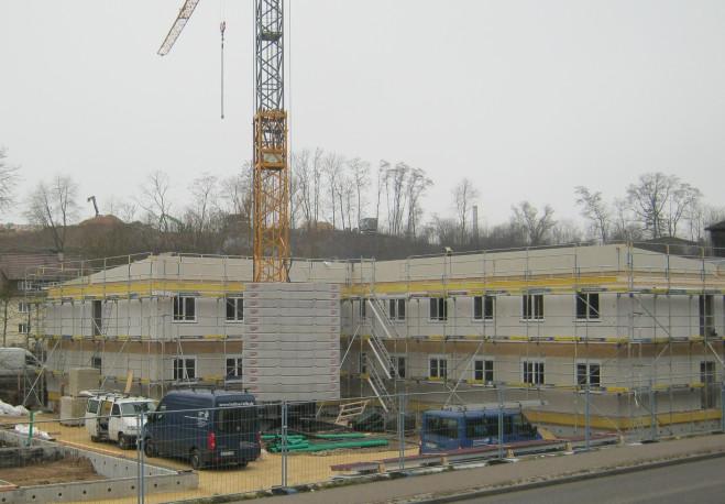 PM-Bauarbeiten Gemeinschaftsunterkunft Ehingen